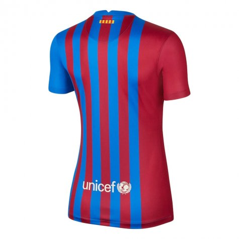 2021-2022 Barcelona Womens Home Shirt (SERGIO 5)