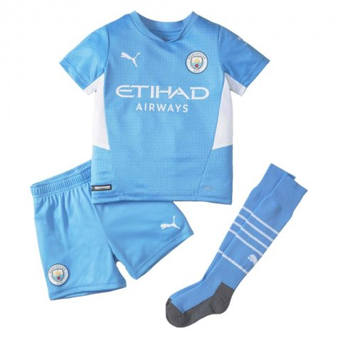 2021-2022 Man City Home Mini Kit (ZABALETA 5)
