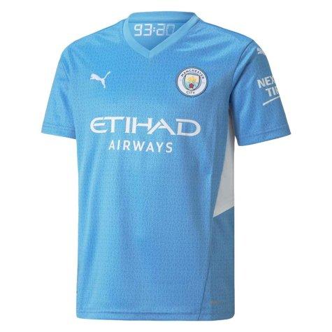 2021-2022 Man City Home Shirt (Kids) (TOURE YAYA 42)