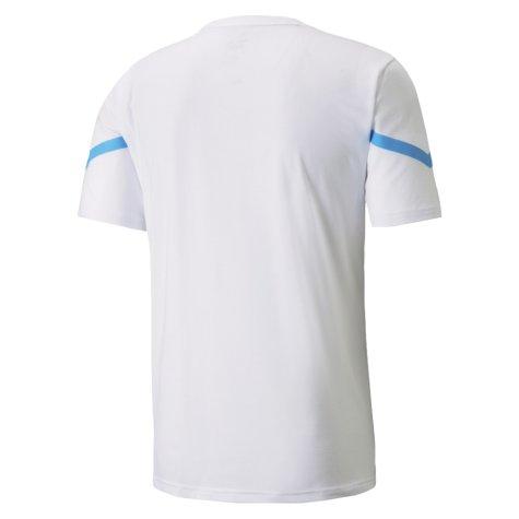 2021-2022 Man City Pre Match Jersey (White) (ZABALETA 5)