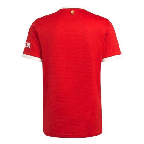 Man Utd 2021-2022 Home Shirt (VAN DE BEEK 34)