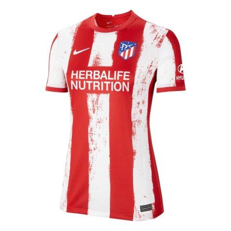 2021-2022 Atletico Madrid Womens Home Shirt (J M GIMENEZ 2)