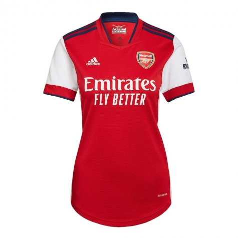 Arsenal 2021-2022 Home Shirt (Ladies) (NELSON 24)