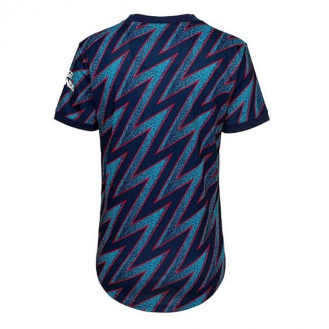 Arsenal 2021-2022 Third Shirt (Ladies) (NELSON 24)
