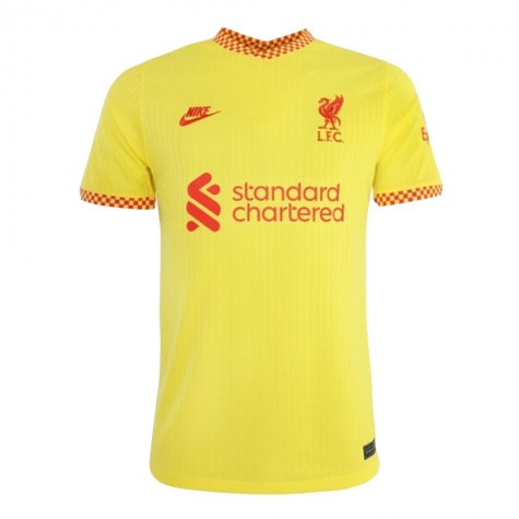 Liverpool 2021-2022 Vapor 3rd Shirt (MILNER 7)