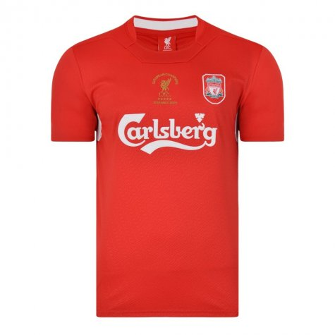 Liverpool FC 2005 Istanbul Home Shirt (KUYT 18)