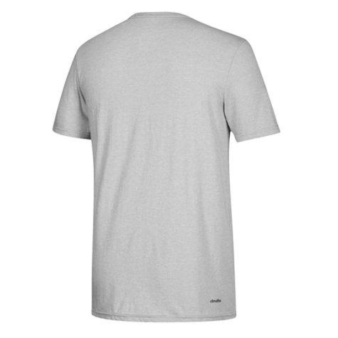 2018 Los Angeles Adidas Smoke Out T-Shirt (Light Grey)