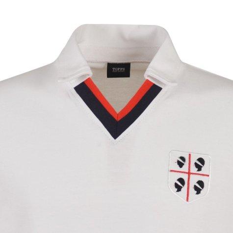 Cagliari 1981-1982 Retro Football Shirt