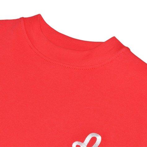 Vicenza 1960s Home Red Retro Football Shirt