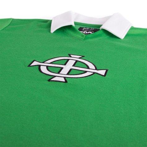 George Best Northern Ireland 1977 Retro Football Shirt