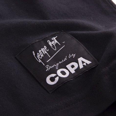 George Best Repeat Logo T-Shirt (Black)