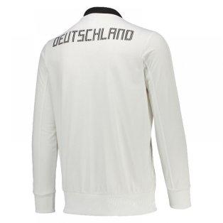Espectador Retocar ruido  2018-19 Germany Adidas Country Identity Jacket (White) - Uksoccershop