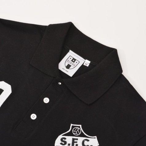 Santos Number 10 Black Polo Shirt