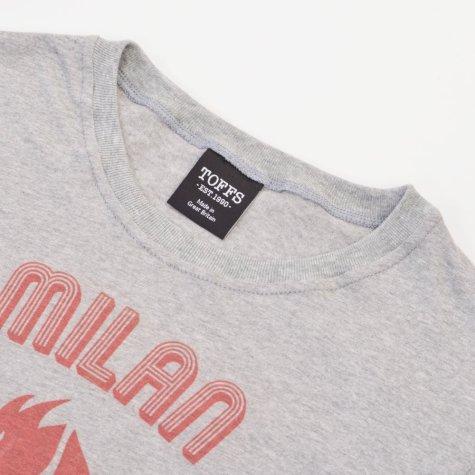 AC Milan Rossoneri Diavolo T-Shirt - Grey Marl