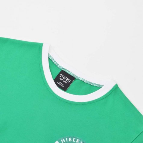 Hibernian 12th Man - Green/White T-Shirt