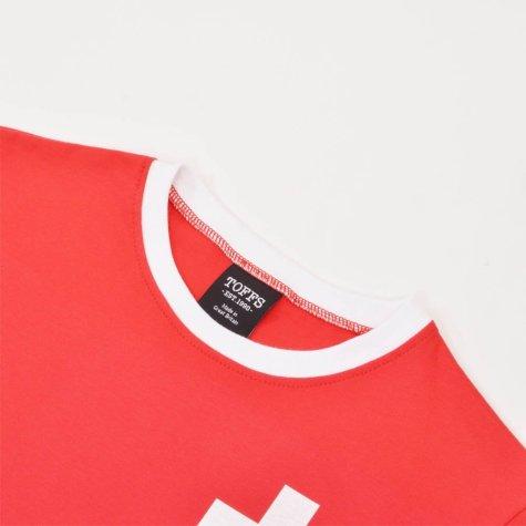 Switzerland 12th Man- Red/White Ringer