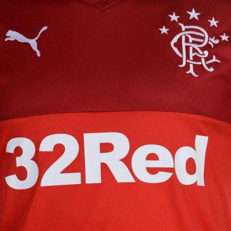 2017-18 Rangers Puma Away Long Sleeve Football Shirt