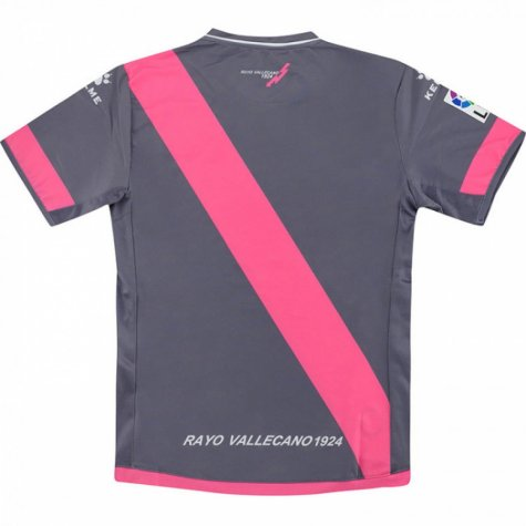 2016-2017 Rayo Vallecano Kelme Third Football Shirt - Kids