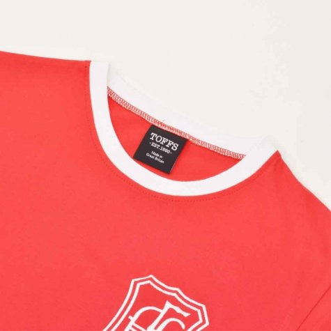 Aberdeen 12th Man T-Shirt - Red/White Ringer