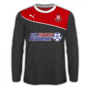2013-14 Airdrieonians Puma Long Sleeve Away Shirt
