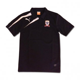 2013-14 Airdrie Puma Polo Shirt (Black)