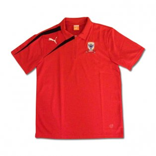 2013-14 Airdrie Puma Polo Shirt (Red)