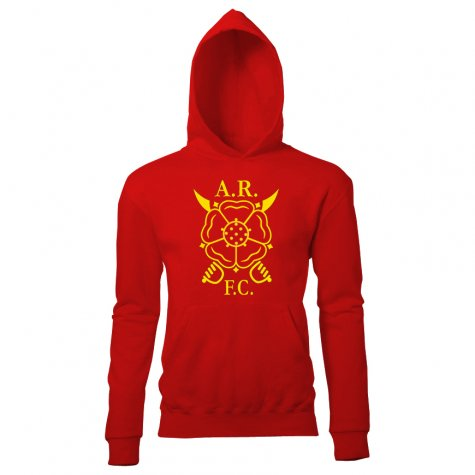 Albion Rovers Supporters Hoody (Red)