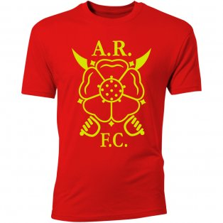 Albion Rovers Core Logo T-Shirt (Red) - Kids
