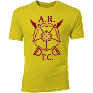 Albion Rovers Core Logo T-Shirt (Yellow) - Kids