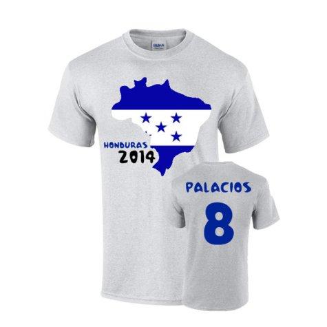 Honduras 2014 Country Flag T-shirt (palacios 8)