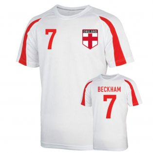 England Sports Training Jersey (beckham 7) - Kids