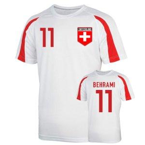Switzerland Sports Training Jersey (behrami 11)
