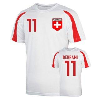 Switzerland Sports Training Jersey (behrami 11) - Kids