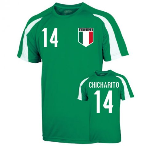 Mexico Sports Training Jersey (chicharito 14) - Kids