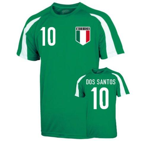 Mexico Sports Training Jersey (dos Santos 10) - Kids
