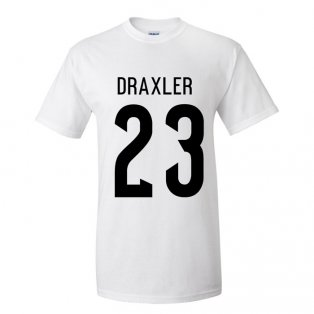 Julian Draxler Germany Hero T-shirt (white)