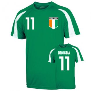 Ivory Coast Sports Training Jersey (drogba 11)