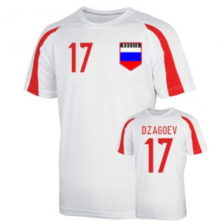 Russia Sports Training Jersey (dzagoev 17) - Kids