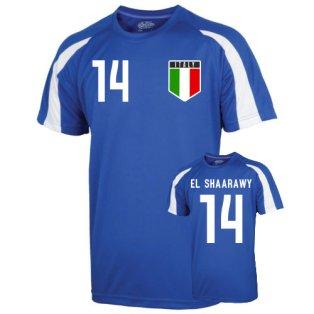 Italy Sports Training Jersey (el Shaaraway 14) - Kids