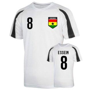 Ghana Sports Training Jersey (essien 8) - Kids