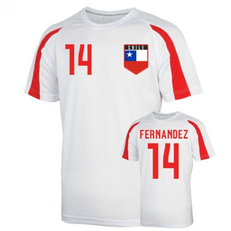 Chile Sports Training Jersey (fernandez 14) - Kids