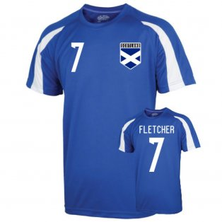 Scotland Sports Training Jersey (fletcher 7) - Kids