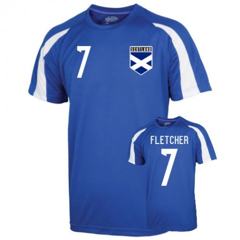 Scotland Sports Training Jersey (fletcher 7) - Kids