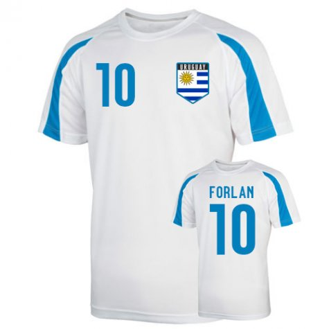 Uruguay Sports Training Jersey (forlan 10)