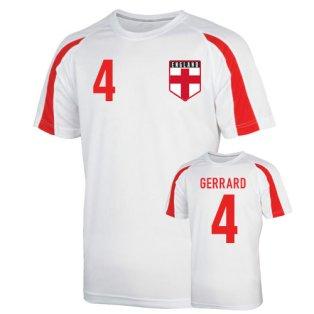 England Sports Training Jersey (gerrard 4) - Kids