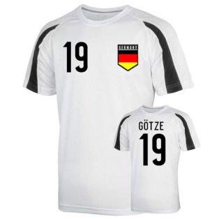 Germany Sports Training Jersey (gotze 19) - Kids