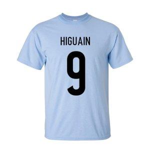 Gonzalo Higuain Argentina Hero T-shirt (sky)