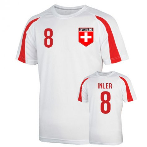 Switzerland Sports Training Jersey (inler 8) - Kids
