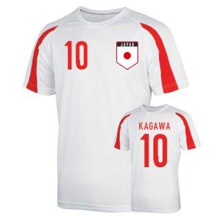 Japan Sports Training Jersey (kagawa 10) - Kids