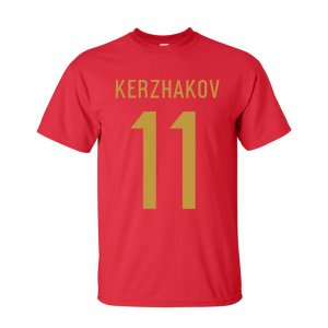 Alexander Kherzakov Russia Hero T-shirt (red)